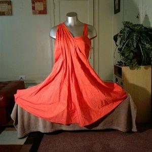 Ashley Stuart Orange Dress